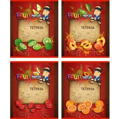 Тетрадь школьная Action! Fruit Ninja FN-AN 1803/1 18 листов линейка скрепка FN-AN 1803/1 дневник для старших классов action fruit ninja линейка fn du 2 fn du 2