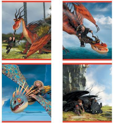 Тетрадь школьная Action! Dragons DR-AN 2401/5 24 листа клетка скрепка