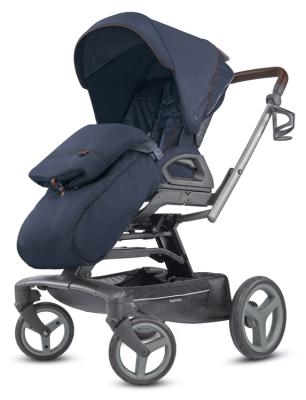 Прогулочная коляска Inglesina Quad (oxford blue) высокий стул для кормления inglesina gusto turchese blue
