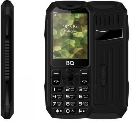 Мобильный телефон BQ 2428 Tank черный мобильный телефон lenovo k3 note k50 t5 16g 4g