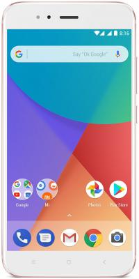 Смартфон Xiaomi MI A1 розовый 5.5 64 Гб LTE Wi-Fi GPS 3G MIA1RG64GB wi fi роутер xiaomi mi wi fi 3g white