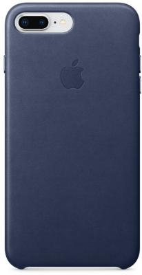 Накладка Apple MQHL2ZM/A для iPhone 7 Plus iPhone 8 Plus темно-синий смартфон apple iphone 7 plus 32gb mnqm2ru a черный