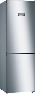 Холодильник Bosch KGN36VI21R серебристый двухкамерный холодильник bosch kgn 36 vw 21 r