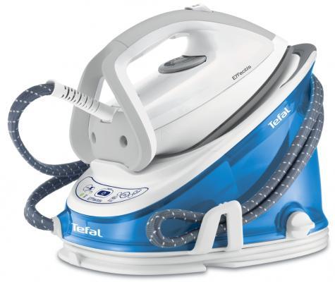 все цены на Утюг Tefal GV6732E0 2200Вт белый синий онлайн