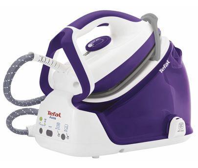 Парогенератор Tefal Actis GV6360E0 2125Вт фиолетовый белый смеситель actis rock grey 518816 blanco