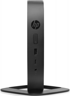 Тонкий Клиент HP Flexible t530 slim GX-215JJ (1.5)/4Gb/SSD16Gb/R2E/HP ThinPro 32/GbitEth/WiFi/BT/45W/клавиатура/черный Y5X64EA тонкий клиент hp 260 g2 5 2kl48ea 2kl48ea
