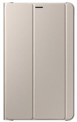Чехол Samsung для  Galaxy Tab  8.0 Book Cover полиуретан/поликарбонат золотистый EF-BT385PFEGRU