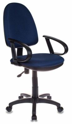 Кресло Бюрократ CH-300/BLUE синий кресло бюрократ престиж ткань [престиж синий]