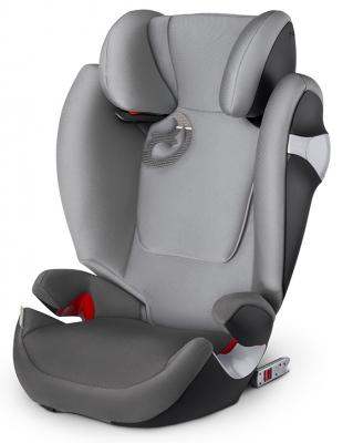 Автокресло Cybex Solution M-Fix (manhattan grey) автокресло cybex juno m fix manhattan grey