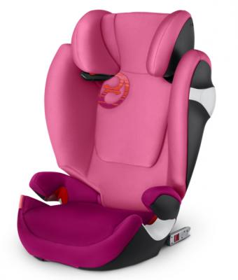 Автокресло Cybex Solution M-Fix (passion pink) автокресло cybex solution m fix passion pink