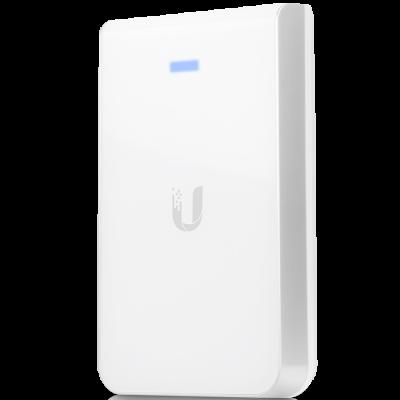 Точка доступа Ubiquiti AС In-Wall 802.11abgnac 867Mbps 2.4 ГГц 5 ГГц 3xLAN белый UAP-AC-IW vi j31 iw