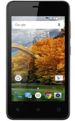 """Смартфон Fly FS408 Stratus 8 черный 4"""" 8 Гб Wi-Fi GPS 3G"""