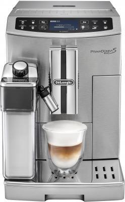 Кофемашина DeLonghi ECAM510.55.M серебристый кофемашина автоматическая delonghi etam 36 364 m