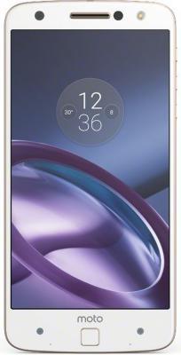 Смартфон Motorola Moto Z золотистый 5.5 32 Гб NFC LTE Wi-Fi GPS 3G XT1650 SM4389AD1U1 + WoodPanel ASMCAPWDOKEU смартфон asus zenfone live zb501kl золотистый 5 32 гб lte wi fi gps 3g 90ak0072 m00140