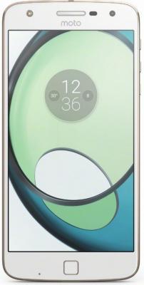 Смартфон Motorola Moto Z Play белый 5.5 32 Гб LTE NFC Wi-Fi GPS 3G XT1635 SM4425AD1U1 + WoodPanel ASMCAPCHAHEU смартфон asus zenfone live zb501kl золотистый 5 32 гб lte wi fi gps 3g 90ak0072 m00140
