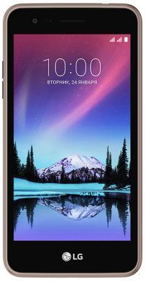 """купить Смартфон LG K7 2017 коричневый 5"""" 8 Гб Wi-Fi GPS 3G LTE LGX230.ACISBN недорого"""