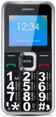 Телефон GINZZU MB505 черный телефон