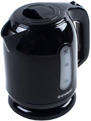 Чайник ENDEVER Skyline KR-223 2200 Вт чёрный 1.7 л пластик пылесосы endever пылесос