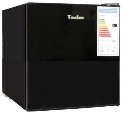 Холодильник TESLER RC-55 черный холодильник tesler rc 55