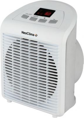 Тепловентилятор NEOCLIMA FH-28 2000 Вт таймер дисплей белый мультиварка delonghi fh 1394 2300 вт 5 л белый черный