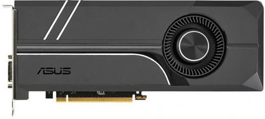 Видеокарта 8192Mb ASUS GeForce GTX1070Ti TURBO PCI-E 256bit GDDR5X DVI HDMI DP TURBO-GTX1070TI-8G Retail asus asus vp228h 21 5 черный dvi hdmi full hd