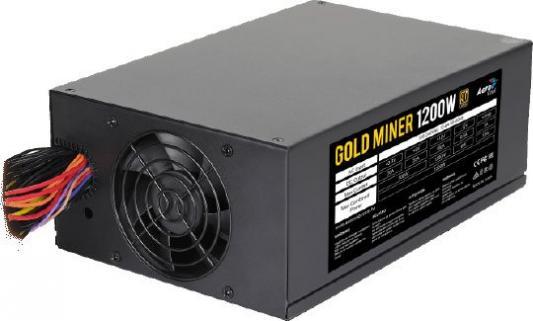 БП ATX 1200 Вт Aerocool Gold Miner 1200 rapoo 9160 gold series wireless optical keyboard