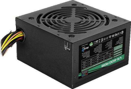 все цены на БП ATX 600 Вт Aerocool VX-600 RGB онлайн