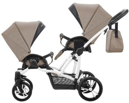 Прогулочная коляска для двоих детей Bebetto 42 Sport 2017 (белое шасси/01)