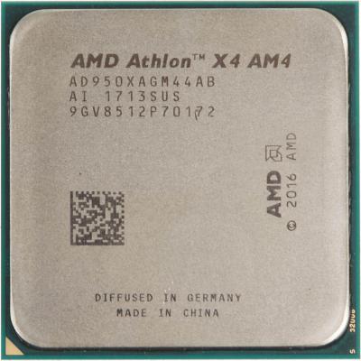 Процессор AMD Athlon X4 950 AD950XAGM44AB Socket AM4 OEM