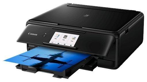 МФУ Canon PIXMA TS8140 цветное A4 15/10ppm 4800x1200 Wi-Fi USB черный 2230C007
