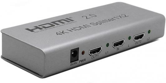 лучшая цена Разветвитель HDMI Orient HSP0102H-2.0 30465