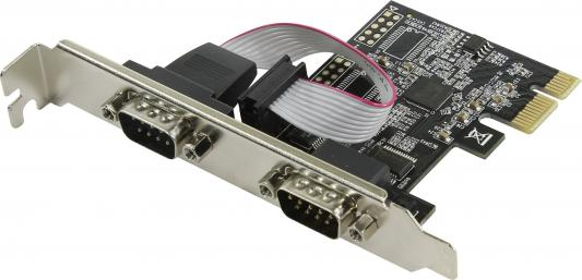 Контроллер Orient XWT-PE2SV1 PCI-E - COM 2-port ASIX AX99100 30490