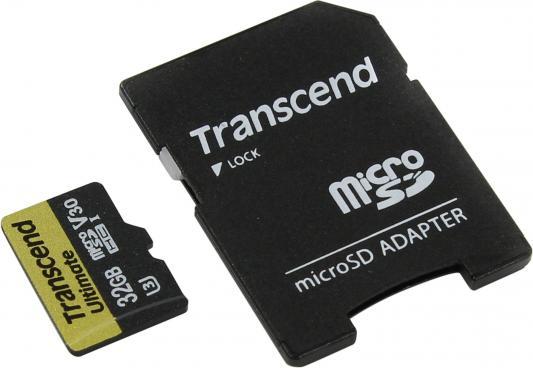 Карта памяти Micro SDHC 32GB Class 10 Transcend TS32GUSDU3M карта памяти other jvin 8gtf