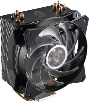 Кулер для процессора Cooler Master MasterAir MA410P Socket 2066/2011-v3/2011/1151/1150/1155/1156/1366/AM4/AM3+/AM3/AM2+/AM2/FM2+/FM2/FM1 cooler zalman cnps9x optima 775 1156 1155 1150 1151 am4 am2 am2 am3 am3 fm1 fm2 120мм