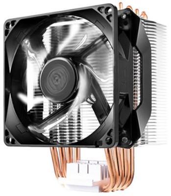 Кулер для процессора Cooler Master Hyper H411R Socket 2066/2011-3/2011/1151/1150/1155/1156/1366/775/AM4/AM3+/AM3/AM2+/AM2/FM2+/FM2/FM1 RR-H411-20PW-R1 alseye cpu cooler heatsink with 90mm led cpu fan tdp 95w 0 23a 2200rpm cooler for lga 1150 1151 1155 am2 am2 am3 am3 am4