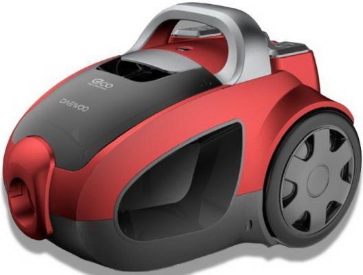 Пылесос DAEWOO RCH-230R сухая уборка красный чёрный
