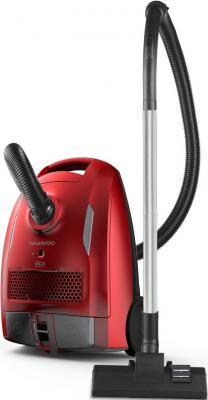 Пылесос DAEWOO RGH-210R сухая уборка красный чёрный