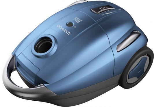 Пылесос DAEWOO RGJ-250S сухая уборка синий чёрный пылесос электровеник hyundai handstick vch05 сухая уборка чёрный синий