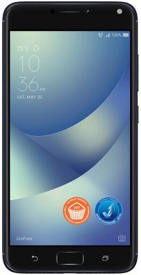 Смартфон ASUS ZenFone 4 Max ZC554KL черный 5.5 32 Гб LTE Wi-Fi GPS 3G 90AX00I1-M00080 смартфон asus zenfone 3 max zc553kl серебристый 5 5 32 гб lte wi fi gps 3g 90ax00d3 m00300