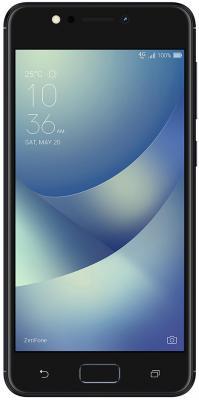 Смартфон ASUS Zenfone 4 Max ZC520KL черный 5.2 32 Гб LTE Wi-Fi GPS 3G 90AX00H1-M01600 смартфон asus zenfone 3 max zc553kl серебристый 5 5 32 гб lte wi fi gps 3g 90ax00d3 m00300