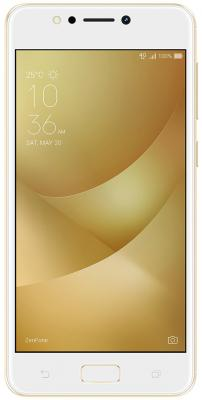 Смартфон ASUS Zenfone 4 Max ZC520KL золотистый 5.2 32 Гб LTE Wi-Fi GPS 3G 90AX00H2-M01610 смартфон asus zenfone 3 max zc553kl серебристый 5 5 32 гб lte wi fi gps 3g 90ax00d3 m00300