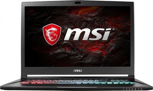 Ноутбук MSI GS73VR 7RG-083RU Stealth Pro 4K 17.3 3840x2160 Intel Core i7-7700HQ 9S7-17B312-083 gs73vr 7rf stealth pro 4k 279ru