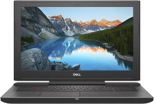 Ноутбук DELL Inspiron 7577 (7577-9584) brand new orig laptop case for dell inspiron master 7577 7587 layout us red backlit keyboard and touchpad palmrest t08kt 0t08kt