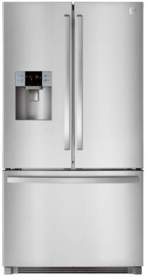 Холодильник Side by Side DAEWOO RF64EDG серебристый холодильник side by side samsung rs 552 nrua9m wt