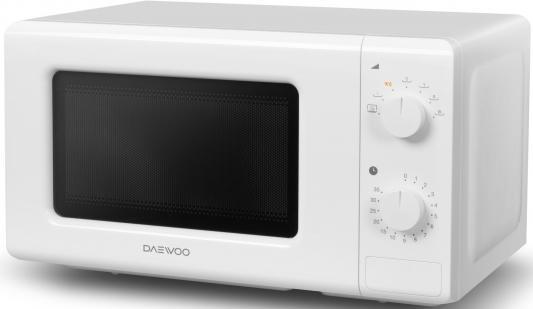 цена СВЧ DAEWOO KOR-6617W 700 Вт белый