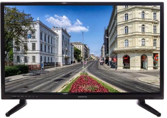 лучшая цена Телевизор Harper 24R470T черный