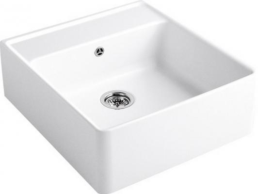 Мойка Villeroy & Boch Single-bowl sink 595 x 220 x 630 mm R1 White Alpin CeramicPlus 632061R1 white color bathroom basin faucet antique bronze finish brass sink faucet single handle vessel sink mixer cold and hot water tap