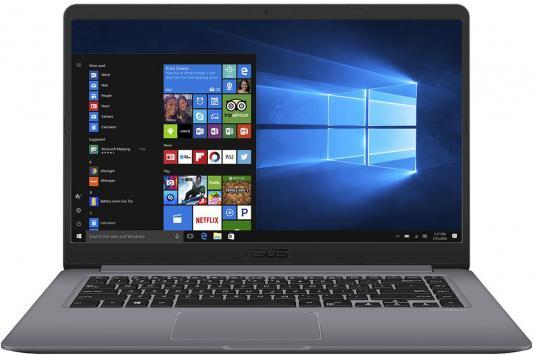 Ноутбук ASUS VivoBook 15 X510UQ-BQ627T 15.6 1920x1080 Intel Core i3-7100U 90NB0FM2-M09890 ноутбук asus x540la 15 6 intel core i3