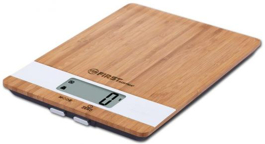 Весы кухонные First FA-6410 бамбук
