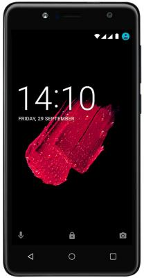 Смартфон Prestigio Muze B5 черный 5.2 16 Гб Wi-Fi GPS 3G смартфон micromax q334 canvas magnus черный 5 4 гб wi fi gps 3g